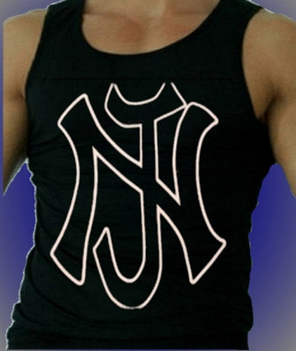 Large NJ   Men's Tank Top