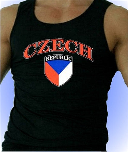 Czech Republic Men's Tank Top
