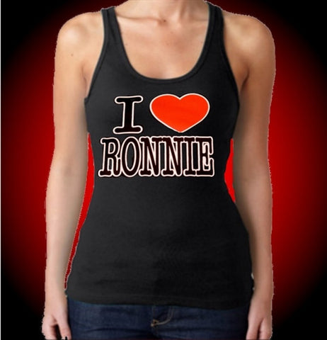 I Heart Ronnie Tank Top Women's