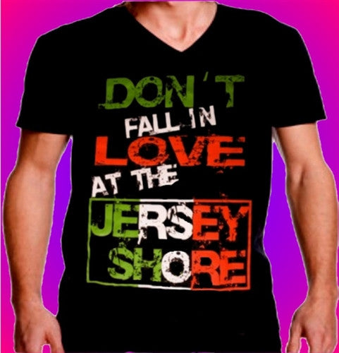 Don't Fall in Love at the Jersey Shore V-Neck