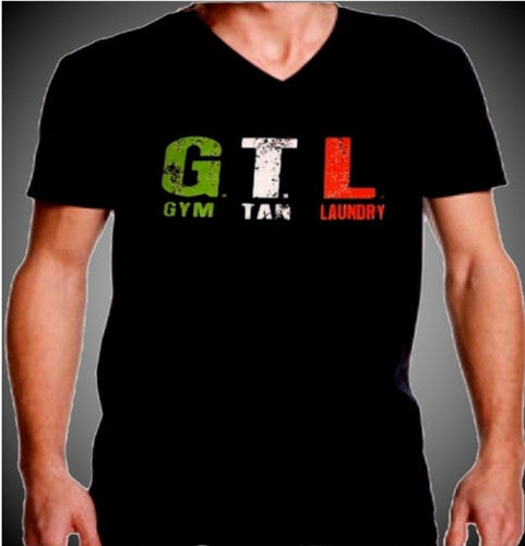 GTL Gym Tan Laundry V-Neck