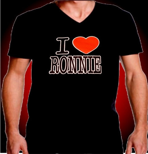 I Heart Ronnie V-Neck