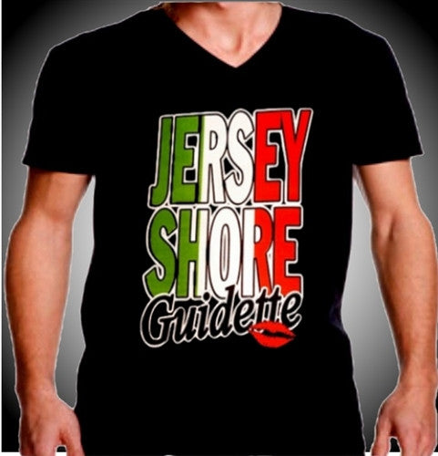 Jersey Shore Guidette V-Neck
