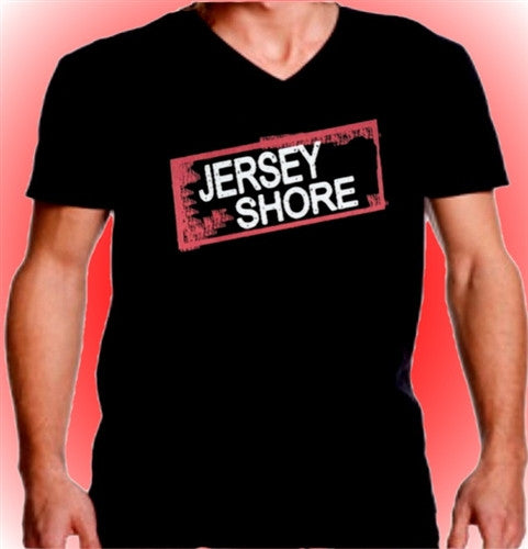 Jersey Shore Logo V-Neck