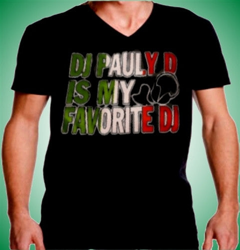 DJ Pauly D Is My Favorite DJ V-Neck