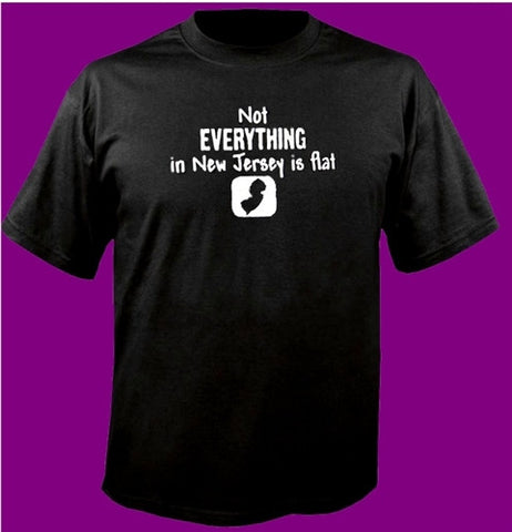 Not Everything In New Jersey Is Flat T-Shirt