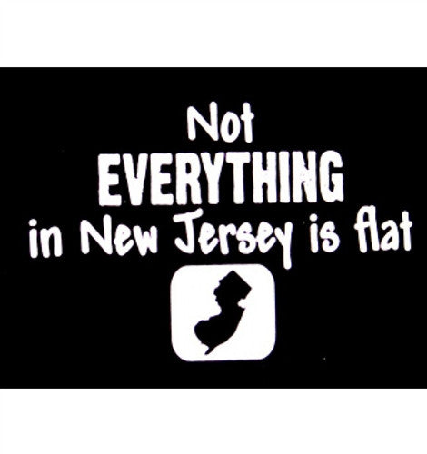 Not Everything In New Jersey Is Flat   Women's Tank Top
