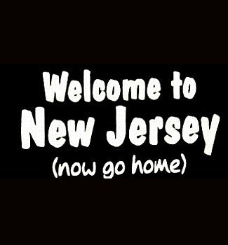 Welcome To New Jersey (Now Go Home) V-Neck