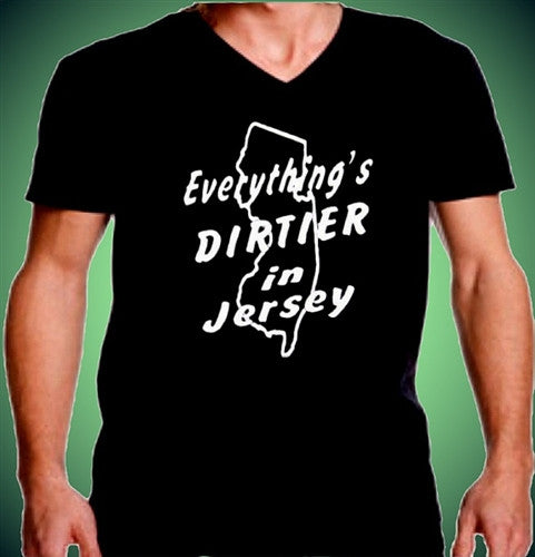 Everything Is Dirtier In Jersey V-Neck