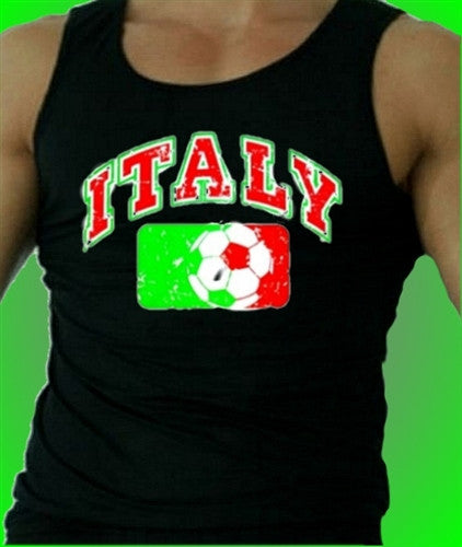 Italy Soccer  Men's Tank Top