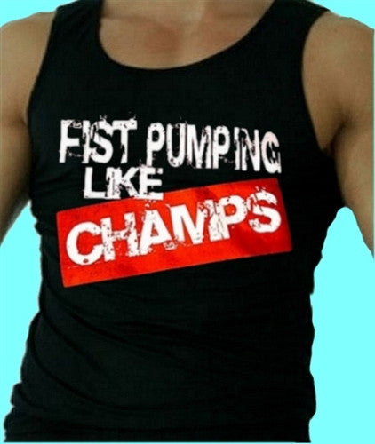 Fist Pumping Like Champs Tank Top Men's