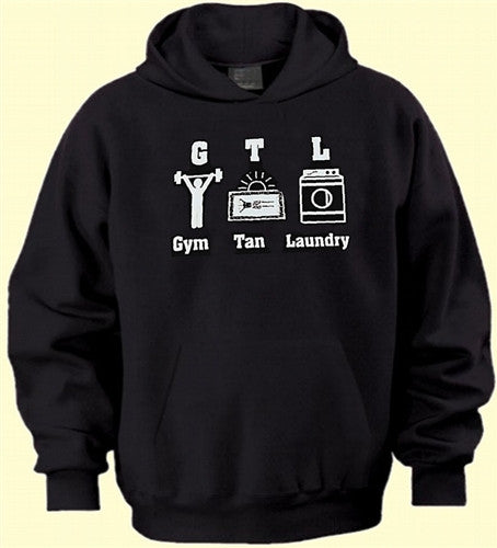 GTL Gym Tan Laundry With Characters Hoodie