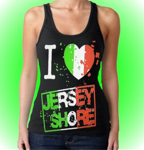 I Heart Jersey Shore Tank Top Women's