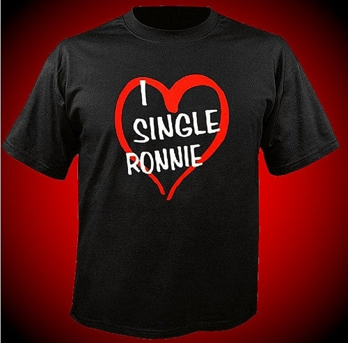 I Heart Single Ronnie T-Shirt