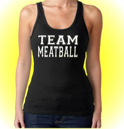 Team Meatball Tank Top Women's