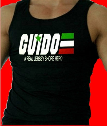 Guido - A Real Jersey Shore Hero Tank Top Men's