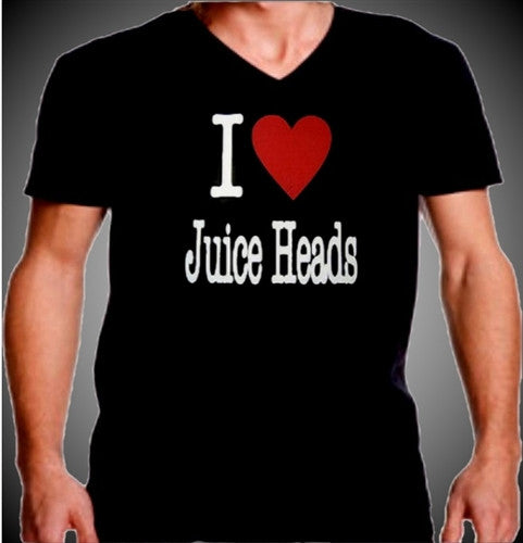 I Heart Juice Heads V-Neck