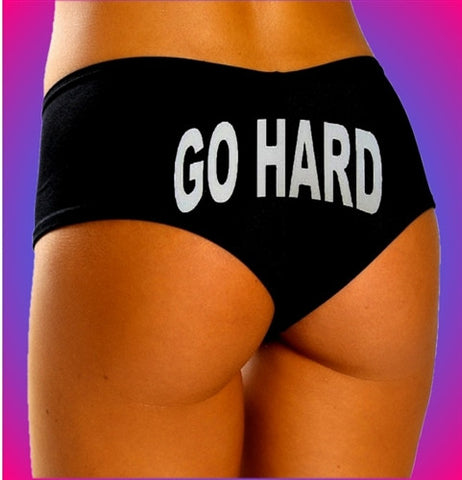 Go Hard Booty Shorts