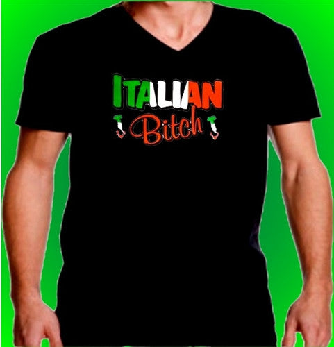 Italian Bitch  V-Neck
