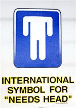 International Symbol for Need Head V-Neck