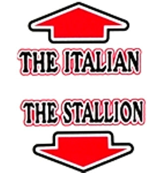 The Italian The Stallion V-Neck