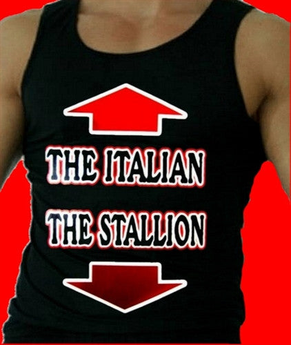 The Italian The Stallion   Men's Tank Top