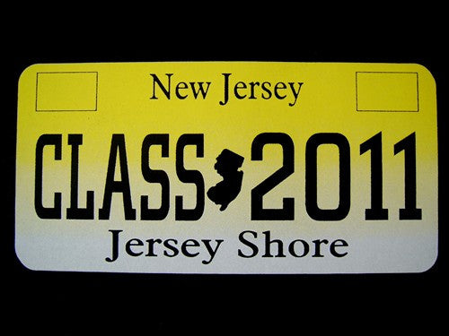Class Of 2011 License Plate
