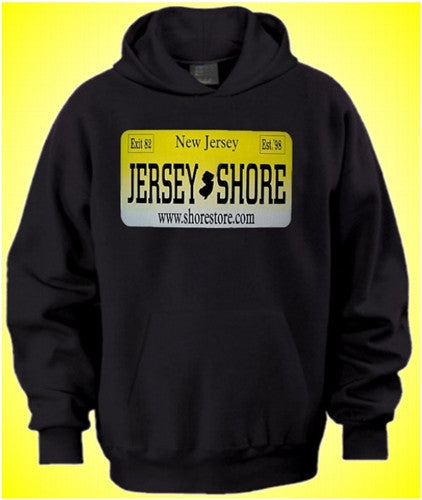 Jersey Shore License Plate Hoodie