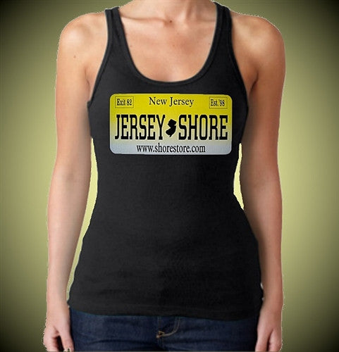 Jersey Shore License Plate Tank Top Women's
