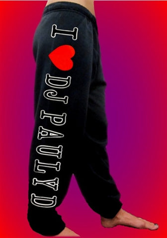 I Heart DJ Pauly D Sweatpants