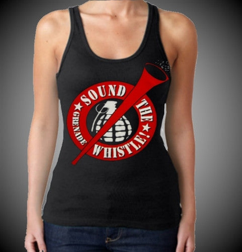 Sound The Grenade Whistle! Tank Top Women's