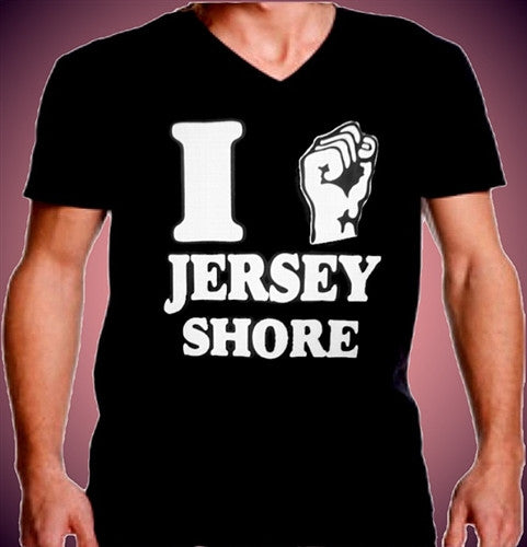 I Fist Pump Jersey Shore V-Neck