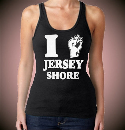 I Fist Pump Jersey Shore Tank Top Women's