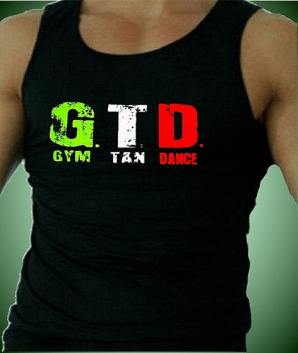 GTD Gym Tan Dance  Men's Tank Top
