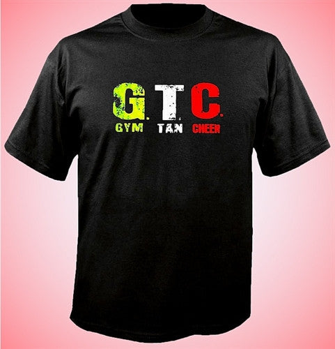 GTC Gym Tan Cheer T-Shirt