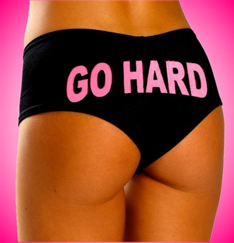 Go Hard Pink Booty Shorts