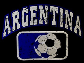 Argentina Soccer Ball V-Neck