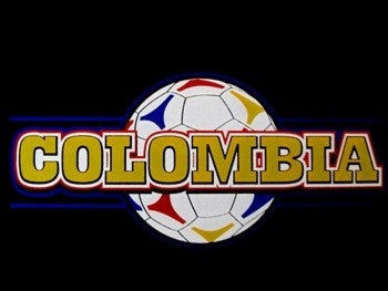 Colombia Soccer Ball V-Neck
