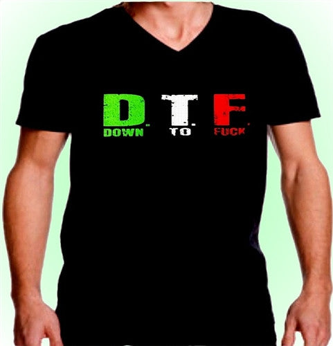 D.T.F. ITALIAN COLORS V-Neck