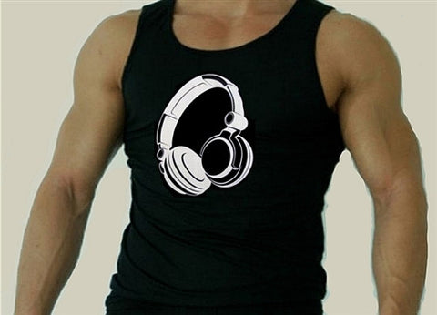 Headphones Tank Top Men's
