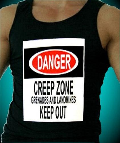 DANGER CREEP ZONE Tank Top Men's
