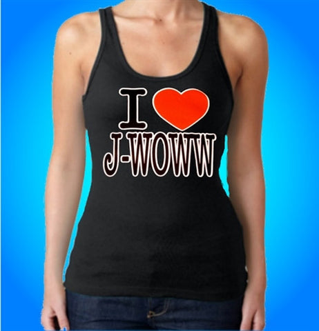 I Heart Jwoww Tank Top Women's