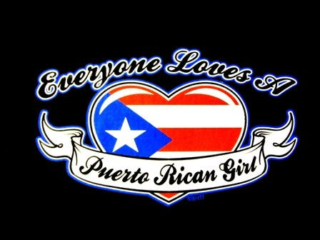 Everyone Loves A Puerto Rican Girl V-Neck