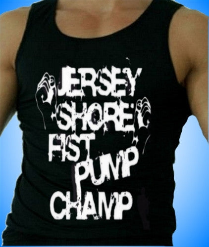 Jersey Shore Fist Pump Champ  Men's Tank Top
