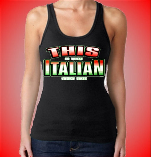 This Is What Italian Looks Like!  Women's Tank Top