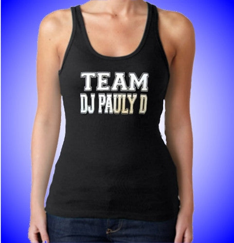 Team DJ Pauly D  Women's Tank Top