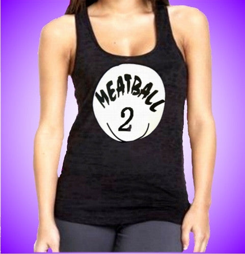 Meatball 2 (Deena) Burnout Tank Top Women's