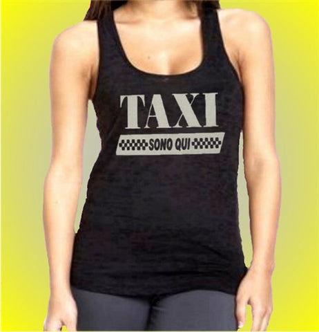 Taxi Sono Qui    Burnout Tank Top Women's
