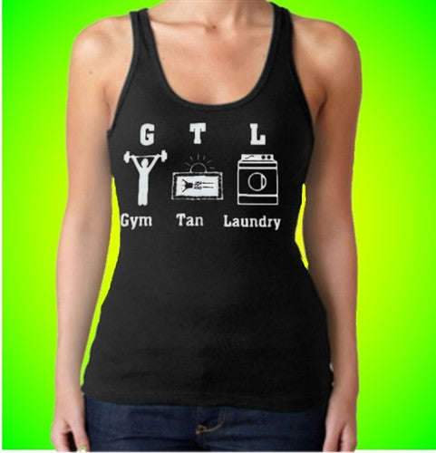GTL Gym Tan Laundry With Characters Tank Top Women's