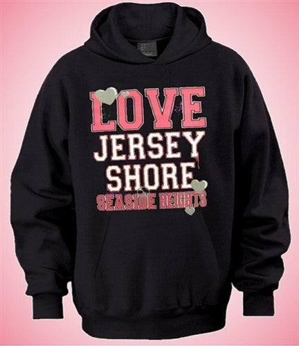 Jersey Shore Love And Peace Hoodie